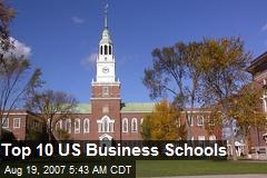 Top 10 US Business Schools