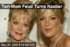 Tori-Mom Feud Turns Nastier