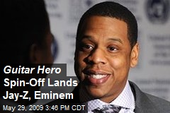 Guitar Hero Spin-Off Lands Jay-Z, Eminem