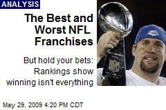The Best and Worst NFL Franchises