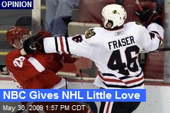 NBC Gives NHL Little Love
