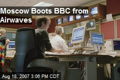 Moscow Boots BBC from Airwaves
