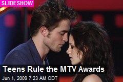 Teens Rule the MTV Awards