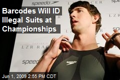 Barcodes Will ID Illegal Suits at Championships