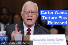 Carter Wants Torture Pics Released