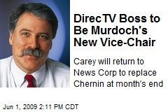 DirecTV Boss to Be Murdoch's New Vice-Chair