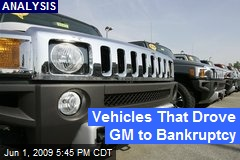 Vehicles That Drove GM to Bankruptcy