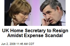 UK Home Secretary to Resign Amidst Expense Scandal
