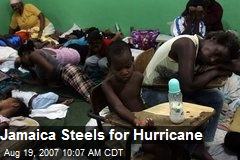 Jamaica Steels for Hurricane