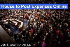 House to Post Expenses Online