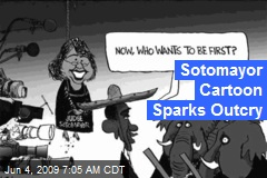 Sotomayor Cartoon Sparks Outcry