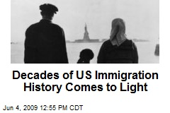 Decades of US Immigration History Comes to Light