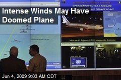 Intense Winds May Have Doomed Plane