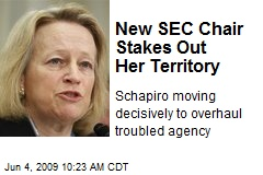 New SEC Chair Stakes Out Her Territory