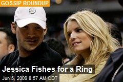 Jessica Fishes for a Ring