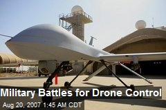 Military Battles for Drone Control