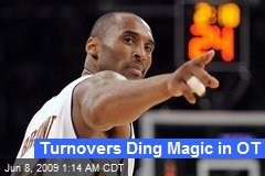 Turnovers Ding Magic in OT