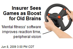Insurer Sees Games as Boost for Old Brains