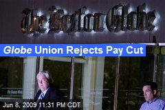 Globe Union Rejects Pay Cut