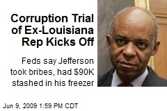 Corruption Trial of Ex-Louisiana Rep Kicks Off