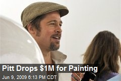 Pitt Drops $1M for Painting