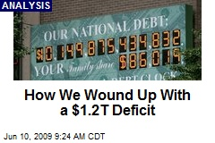 How We Wound Up With a $1.2T Deficit
