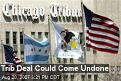 Trib Deal Could Come Undone