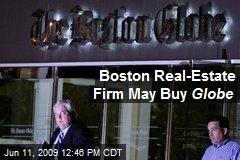 Boston Real-Estate Firm May Buy Globe