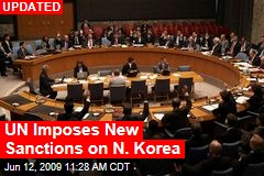 UN Imposes New Sanctions on N. Korea