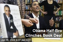 Obama Half-Bro Clinches Book Deal