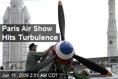 Paris Air Show Hits Turbulence