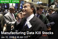 Manufacturing Data Kill Stocks