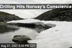 Drilling Hits Norway's Conscience