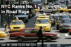 NYC Ranks No. 1 in Road Rage