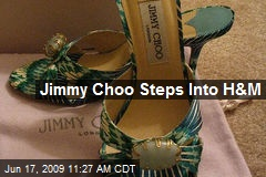 Jimmy Choo Steps Into H&M