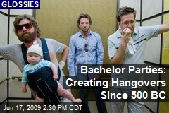 Bachelor Parties: Creating Hangovers Since 500 BC