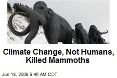 Climate Change, Not Humans, Killed Mammoths