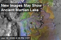 New Images May Show Ancient Martian Lake