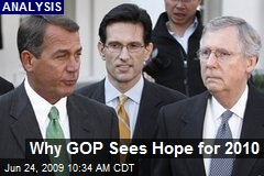 Why GOP Sees Hope for 2010