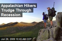 Appalachian Hikers Trudge Through Recession