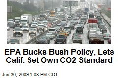 EPA Bucks Bush Policy, Lets Calif. Set Own CO2 Standard