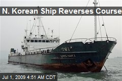 N. Korean Ship Reverses Course