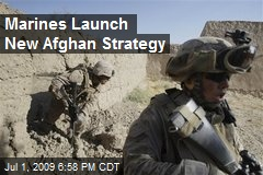 Marines Launch New Afghan Strategy