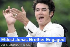 Eldest Jonas Brother Engaged