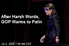 After Harsh Words, GOP Warms to Palin