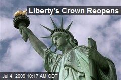 Liberty's Crown Reopens