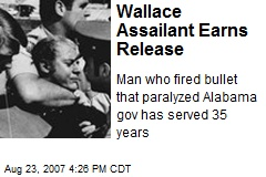 Wallace Assailant Earns Release
