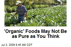 'Organic' Foods May Not Be as Pure as You Think