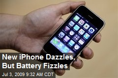 New iPhone Dazzles, But Battery Fizzles
