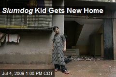 Slumdog Kid Gets New Home